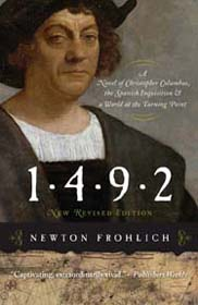 Book cover of 1492 by Newton Frohlich