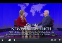 "Newton Frohlich interviewed on ""Books and the World"" TV show"